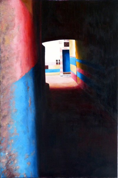 Pink and Blue passage