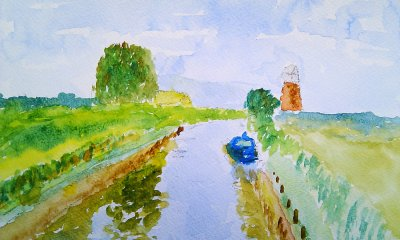 Broads view: West Somerton Staithe